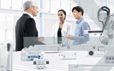 FESTO: ingenieros en el área de la productividad